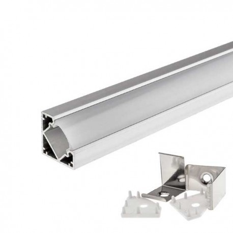 Profil Aluminiu Unghiular 18mm 1M
