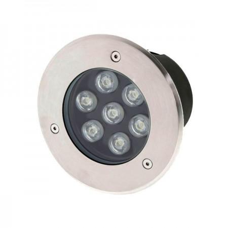 7W/220V Spot LED IP65 Incastrabil in paviment lumina alba /calda