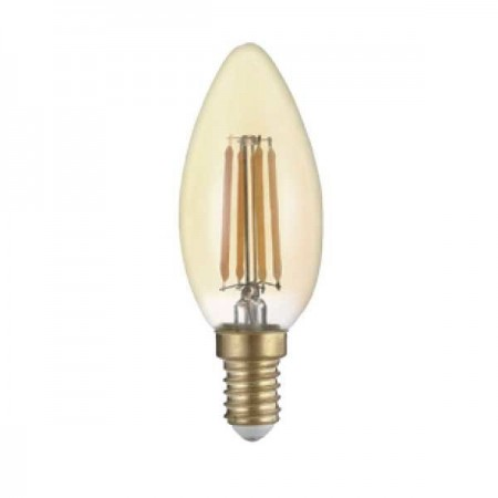 Bec Led Candela E14 Golden Glasss C35 - Ledel