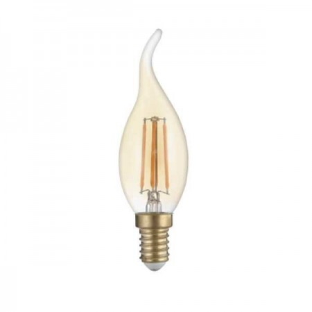 Bec Led E14 Filament T35 Golden Glass - Ledel