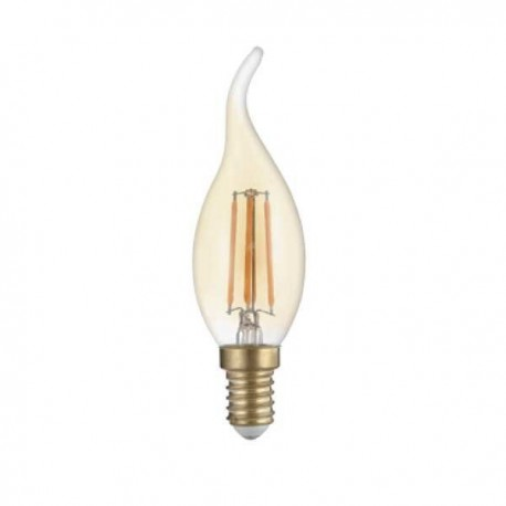Bec Led E14 Filament T35 Golden Glass