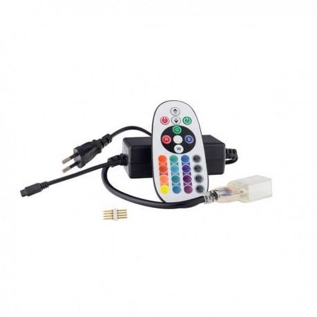 Alimentare+controller Neon Flexibil RGB 220V
