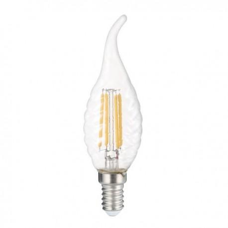 Bec Led Candela E14 C35 4W Lumina Calda