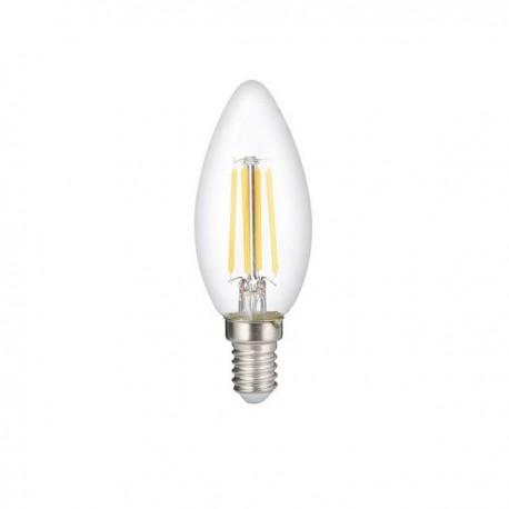 Bec Led E14 Filament Candela C35 6W Lumina Rece/Naturala/Calda