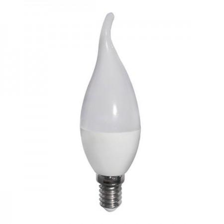 Bec Led E14 TIP C37 Lumina Calda 6W - Ledel