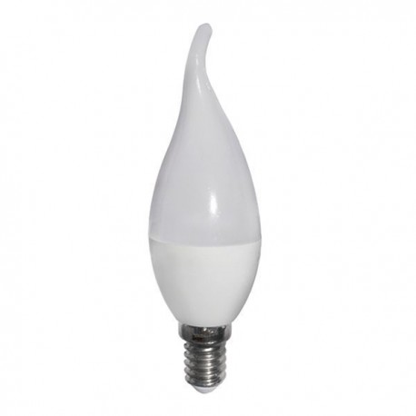 Bec Led E14 TIP C37 Lumina Calda 6W