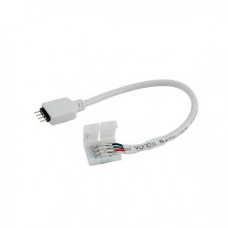 Conector flexibil banda RGB cu pini