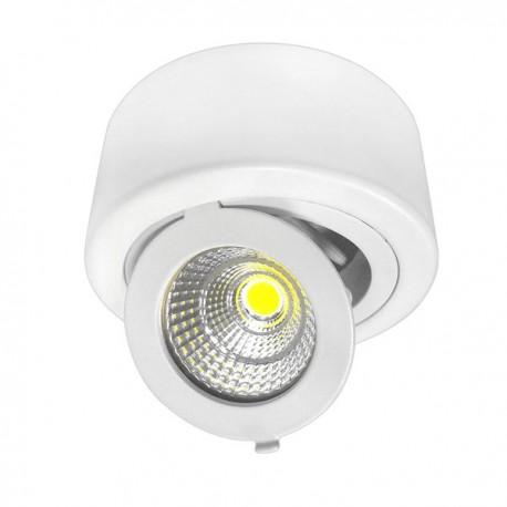 12W Aplica LED COB rotunda, Ajustabila, lumina calda/neutra/rece