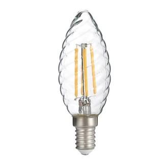 Bec Led E14 Filament Candela c35 4W Lumina Calda