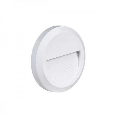 Aplica LED Rotunda Alba Pentru Trepte 2W - Ledel