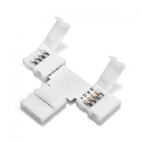 Conector Banda Led RGB model T