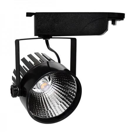 Proiector LED de interior 25W COB corp negru lumina rece/neutra/calda - Ledel