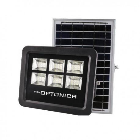 50W Proiector LED Cu Incarcare Solara Si Acumulator