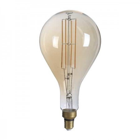 Bec LED Filament E27 PS160 8W Dimabil 1800K