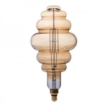 Bec LED Filament E27 BD200 8W 1800K - Ledel