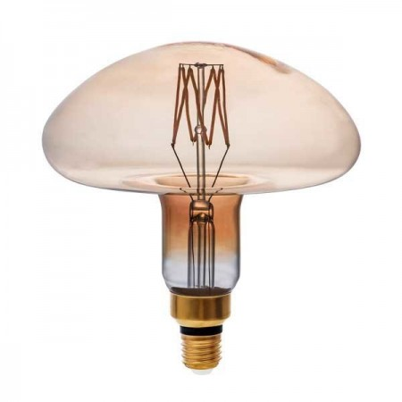 LED Bulb E27 MS200 8W Golden Glass Dimabil - Ledel