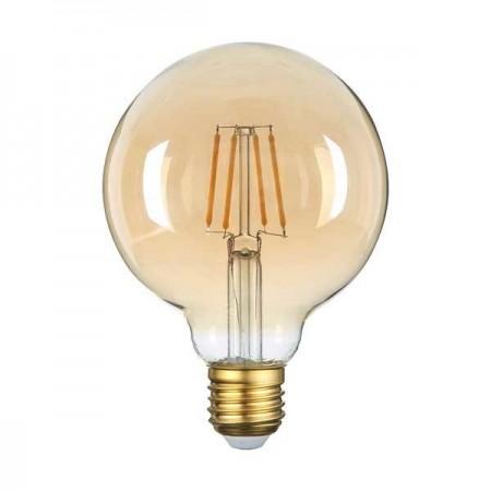LED Bulb E27 G95 4W Golden Glass - Ledel