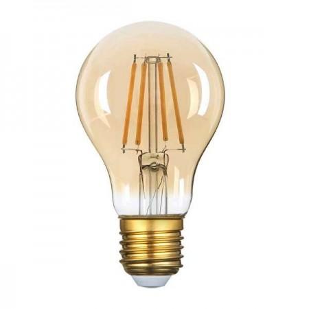 LED Bulb E27 A60 8W Golden Glass - Ledel