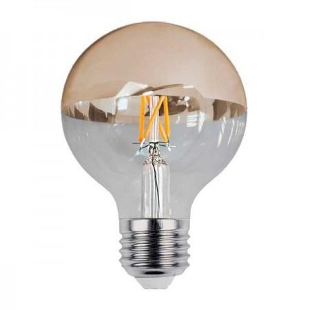 LED Bulb G95 E27 Half Golden Glass - Ledel