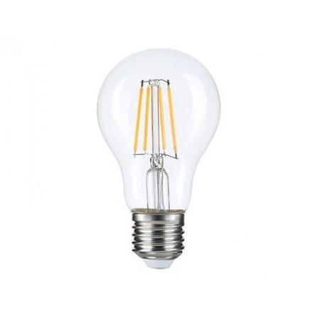 Bec LED E27 A60 8W Filament Lumina Rece, Lumina Naturala, Lumina Calda - Ledel