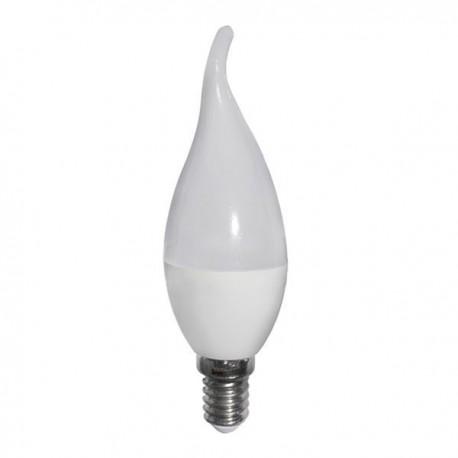 Bec LED Candle C37 TIP E14 Plastic 5 ani garantie