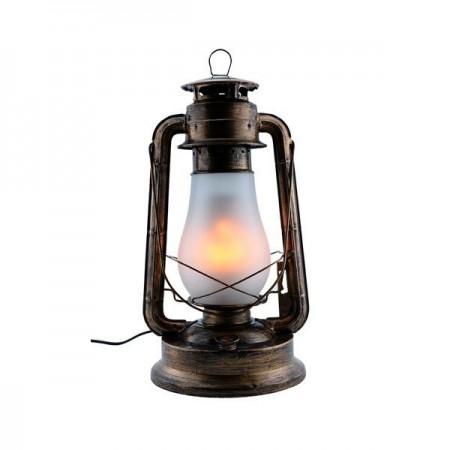 Lampă cu flacără LED E27 5W Culoare bronz - Ledel