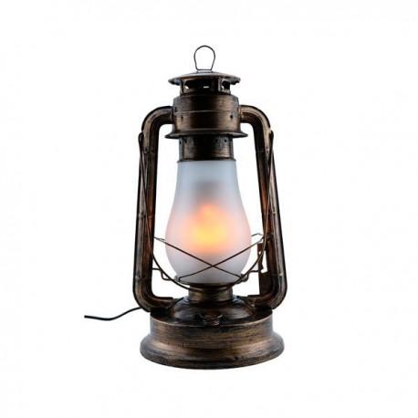 Lampă cu flacără LED E27 5W Culoare bronz