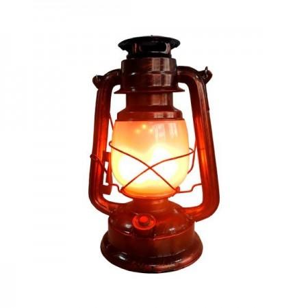 Lampă cu flacără LED 5W Culoare bronz cu baterie - Ledel