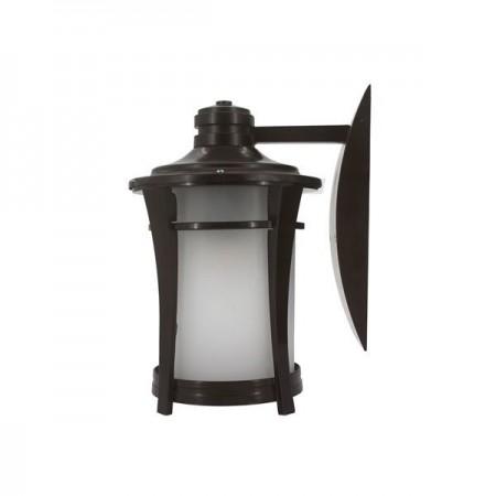 Lampă cu flacără LED 5W coloare bronz montabil pe perete - Ledel