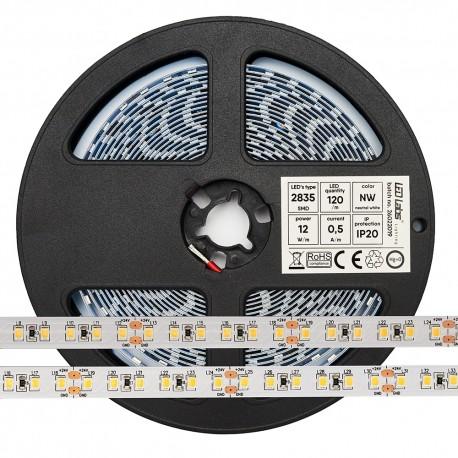 LedLabs Banda Led Profesionala 12V 2835 12W Lumina Neutra