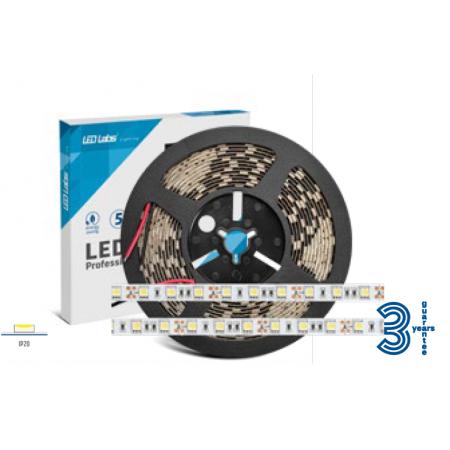 LedLabs Banda Led Profesionala 12V 5050 14.4W/m Lumina Naturala - Ledel