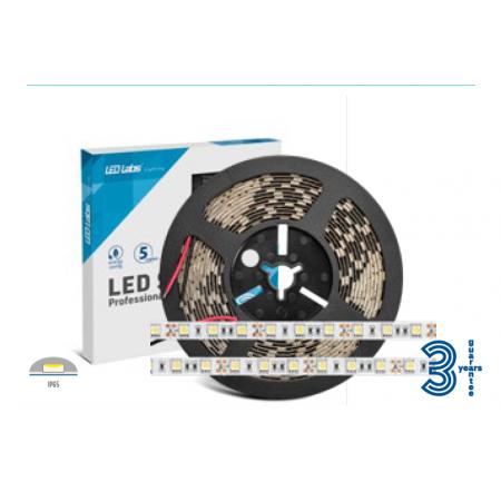 LedLabs Banda Led Profesionala 12V 5050 14.4w/m IP65 Lumina Naturala - Ledel