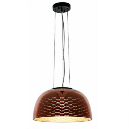Pendul umbrela 3D GLASS - E27 MAX 40W COPPER SEAGULL D400xH200mm