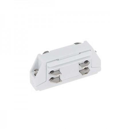 Mini Conector Drept 3 Faze/4 Fire Alb - Ledel