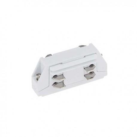 Mini Conector Drept 3 Faze/4 Fire Alb