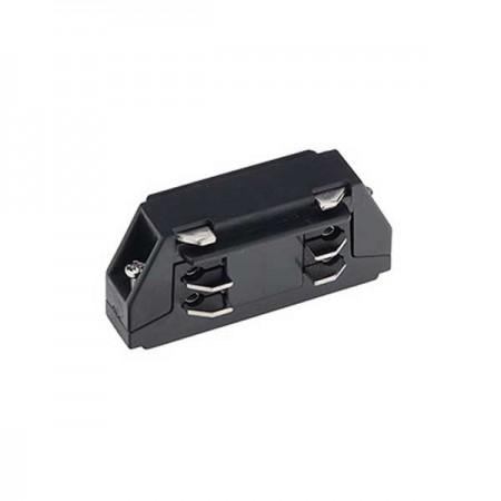 Mini Conector Drept 3 Faze/4 Fire Negru - Ledel
