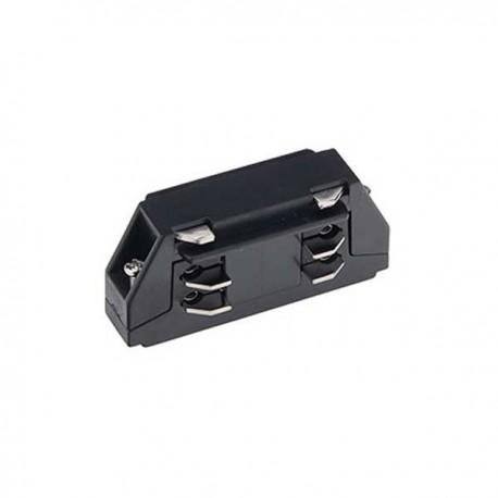 Mini Conector Drept 3 Faze/4 Fire Negru