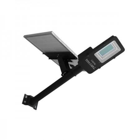 Lampa Stradala LED 8W Cu Incarcare Solara Si Acumulator - Ledel