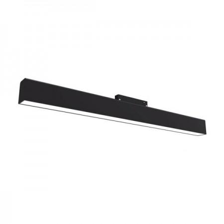 Proiector LED Magnetic 12W Liniar 3000K Negru - Ledel