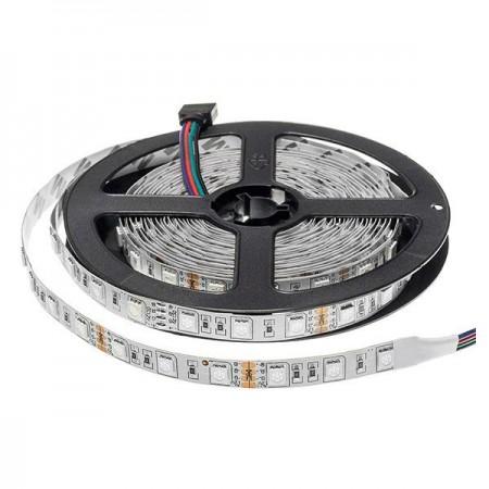 Banda LED PROFESIONALA 12V 5050 60SMD 14.4W interior - Ledel