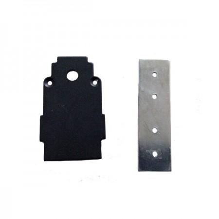 Capac Terminal Sina Magnetica Suspendata/Incastrata Neagra S35 - Ledel