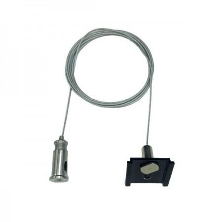 Accesoriu De Suspendare Sina Magnetica Neagra M20/M35 - Ledel