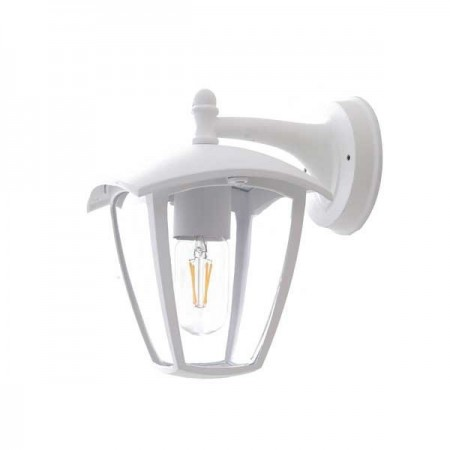 Lampa Perete 1xE27 corp negru - Ledel