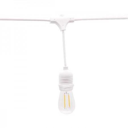 Ghirlanda Luminoasa 14.4m 15XE27 Alb - Ledel