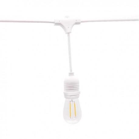 Ghirlanda Luminoasa 14.4m 15XE27 Alb