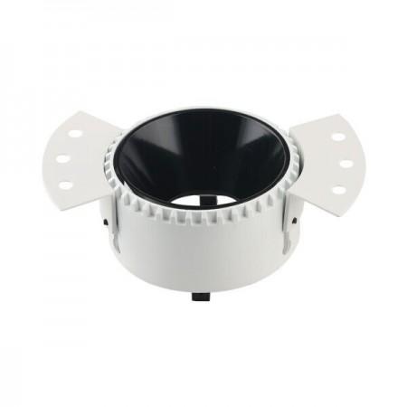 Corp De Iluminat Rotund Incastrat Alb Din Aluminiu GU10 Max 35W - Ledel
