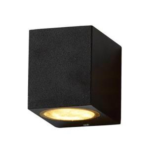 Lampa De Perete Aluminiu GU10 Neagra