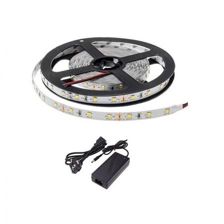 Kit Banda LED 5m 300LED Lumina Alba Interior - Ledel