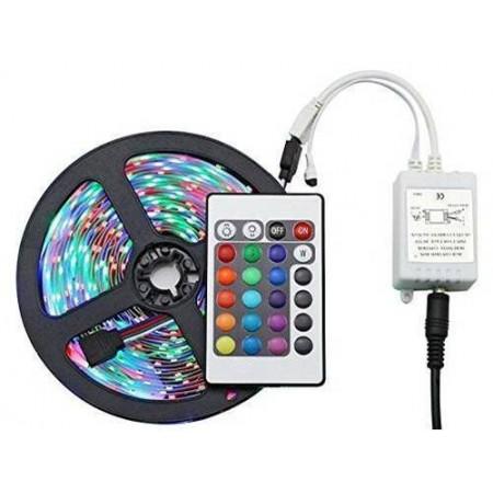 Kit Banda Led Multicolora 10ml 300LED cu Telecomanda Interior - Ledel