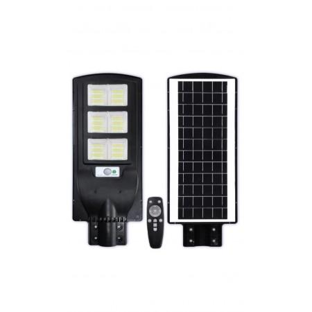 Lampa Stradala LED 90W Cu Incarcare Solara, Telecomanda si Senzor - Ledel
